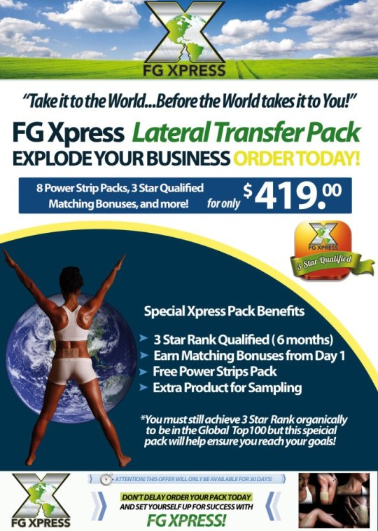 Ready to start your FG Xpress business?