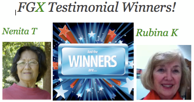 This weeks winners of Powerstrips sample packs