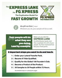 FG Express Lane!